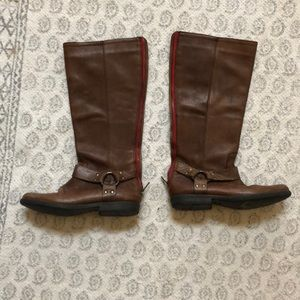 Steve Madden halfcalf leather boots